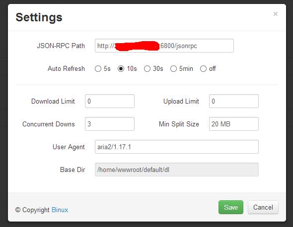 YAAW设置JSON-RPC