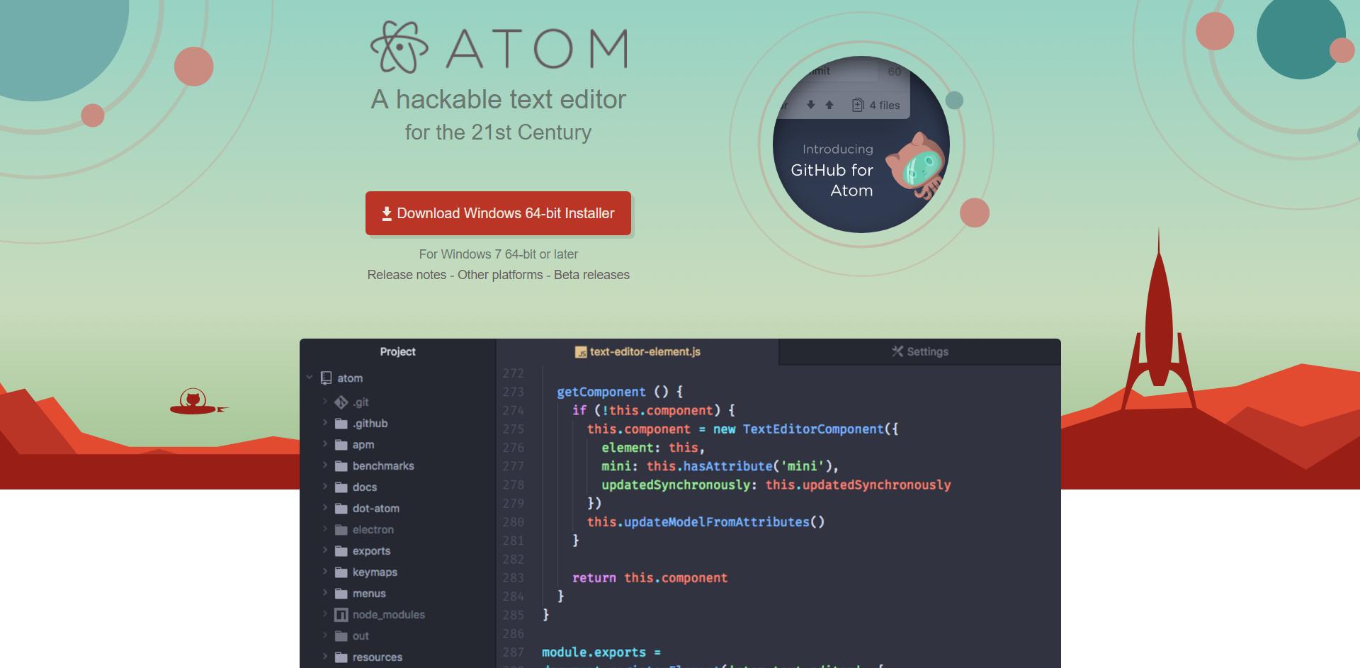 01-Atom首页