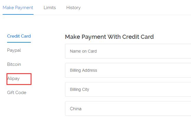 Vultr正式支持支付宝Alipay