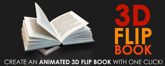 AE翻书脚本-Aescripts 3D Flip Book V1.3