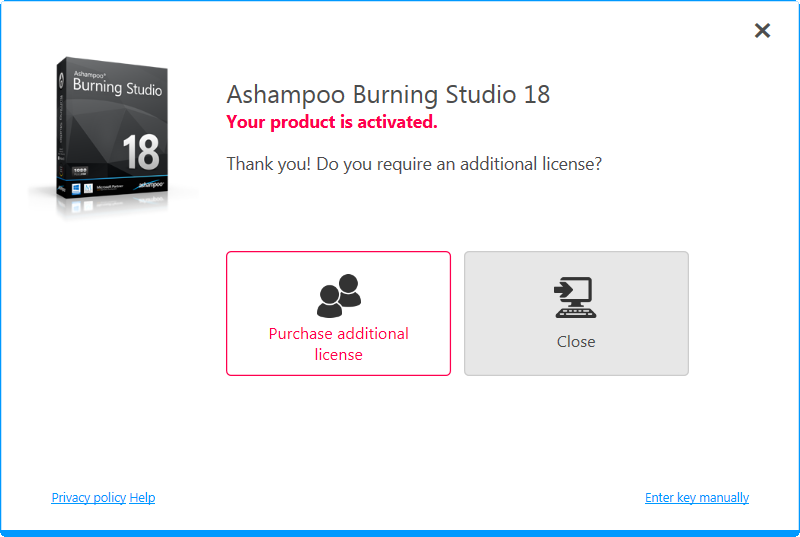 ashampoo® burning studio 18 review