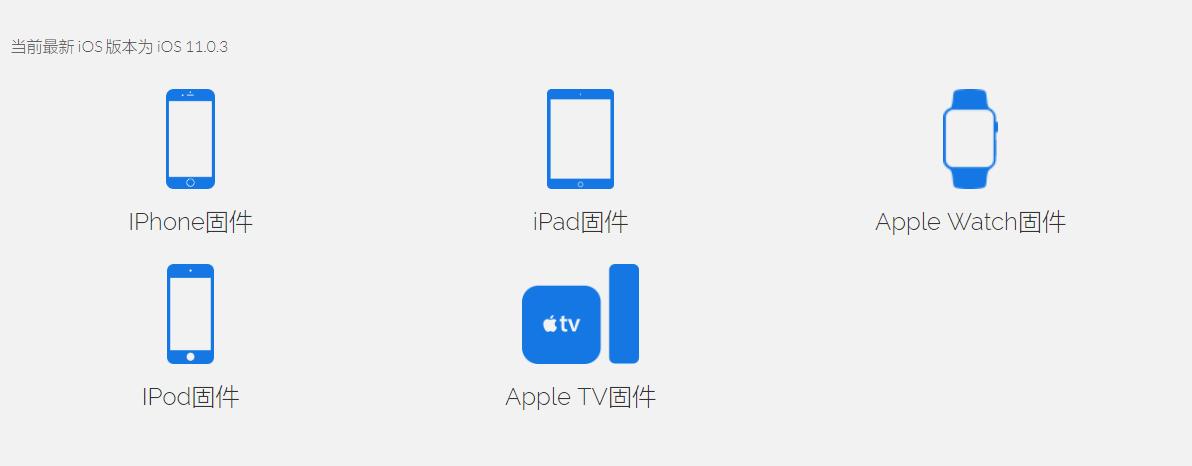 固件之家:Apple设备快速找到系统包