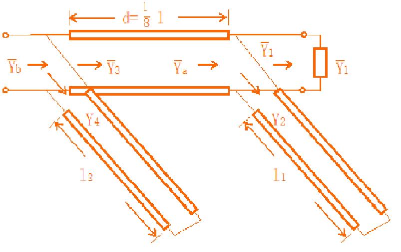 双枝节匹配模型