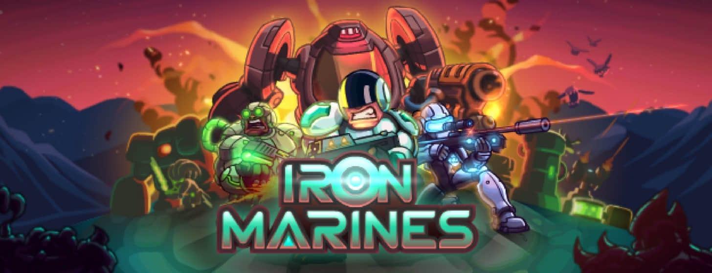 Iron Marines:从复古风塔防到科幻 RTS,360 度大转变!