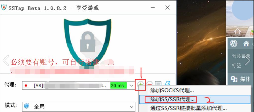 《SSTap-享受游戏! ——SSTap下载地址及使用教程(内附免费版配置)》