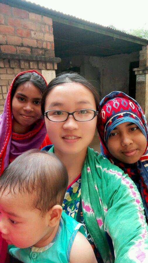 中国女人嫁给贫穷的外国男人