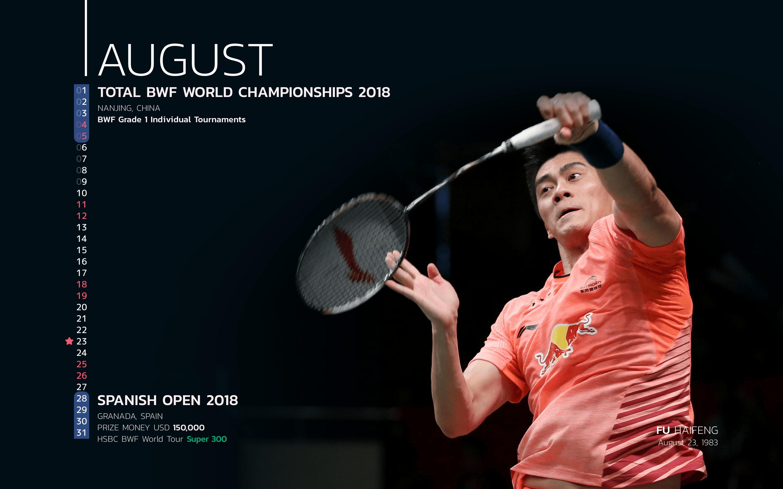BWF Tournaments Calendar 2018 Players 08 Fu Haifeng-min