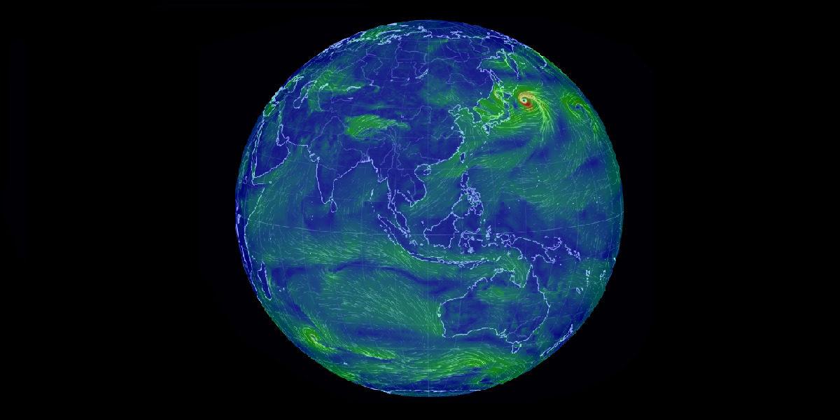 Earth Wind Map 全球风图