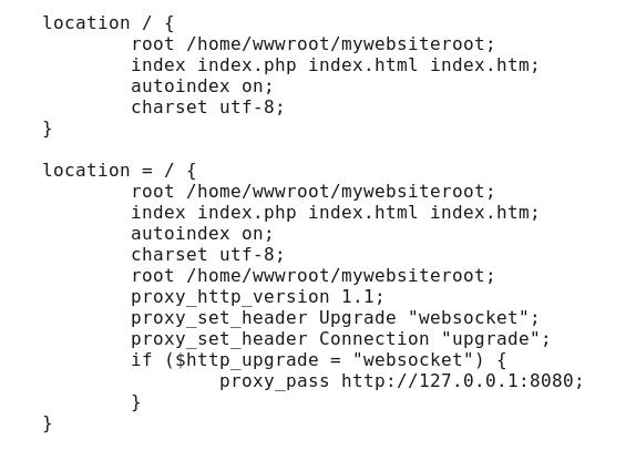 修改Nginx 配置-特殊举例-修改后