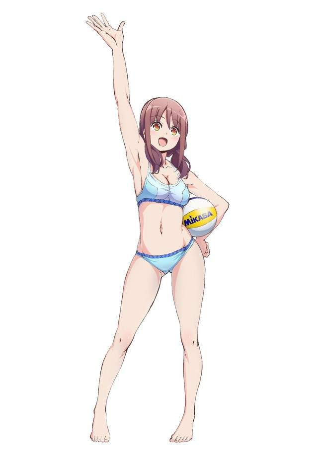 芳文社新番《遥的接球》女高中生挑战沙滩排球,反正就是看球。。 - ACG17.COM