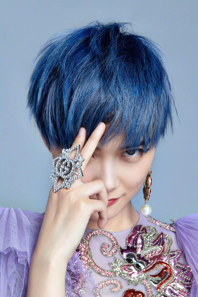 主题:求问,那种蓝色头发要怎么染出来
