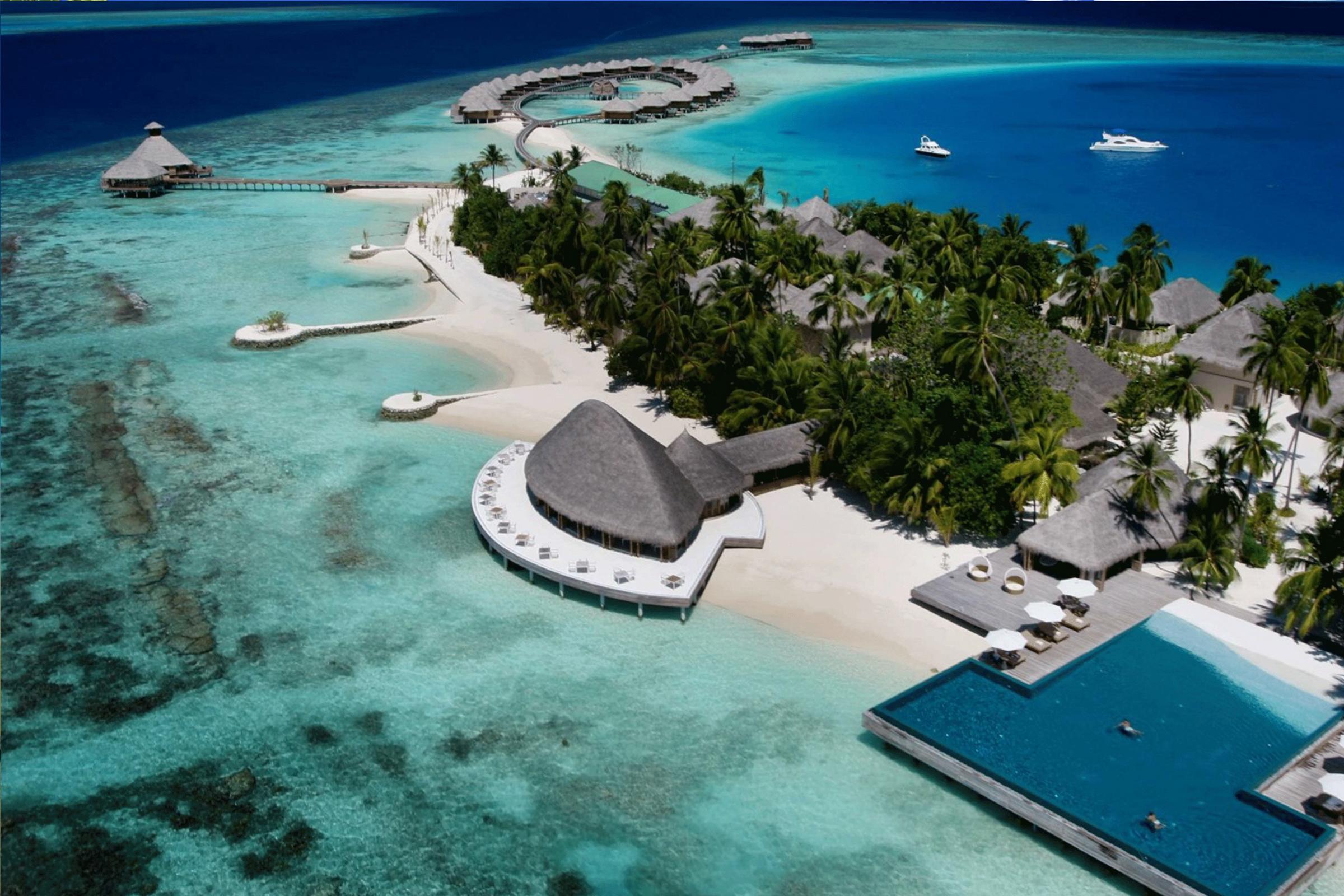 马尔代夫,极致的美景!