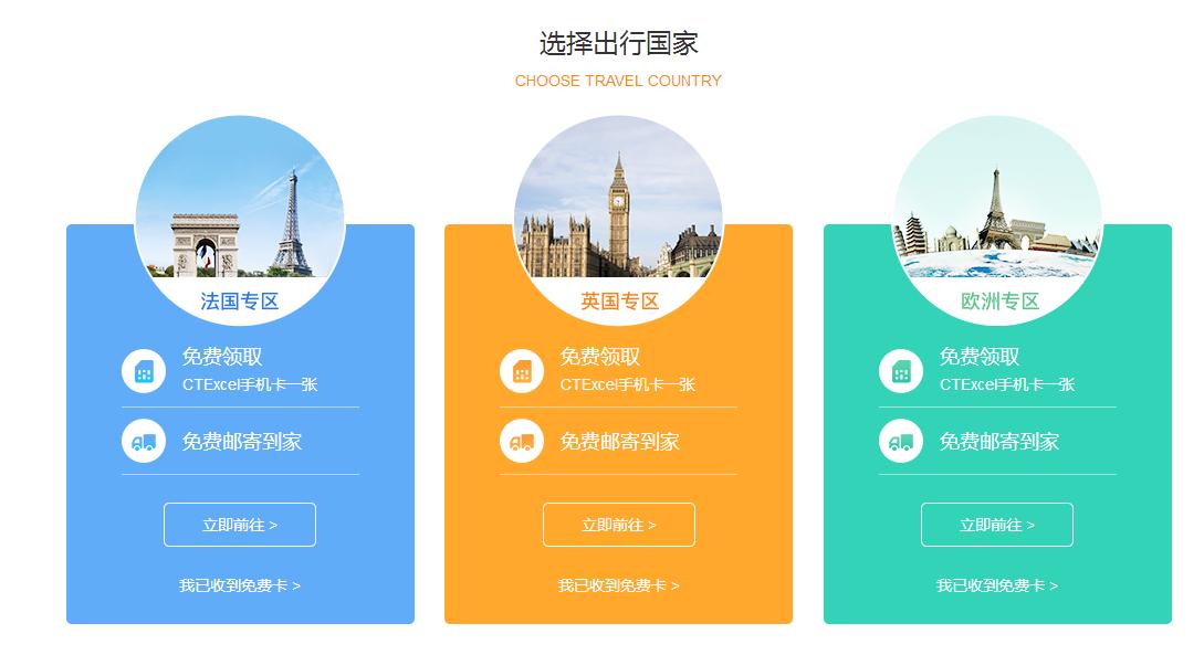 中国电信:无门槛免费领取法国/英国/欧洲的手机卡,薅羊毛实用卡 其他分享 第2张