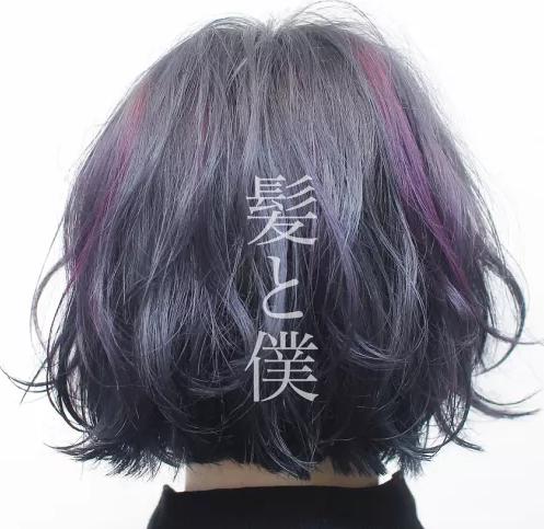 2018超流行的极致挑染色彩-清秋发型