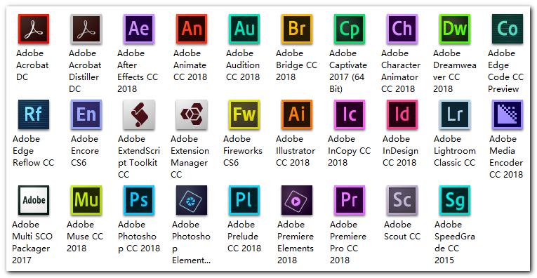 Adobe CC 2018大师版安装包合集下载 含28个安装包-赢政天下 图形图像 第4张
