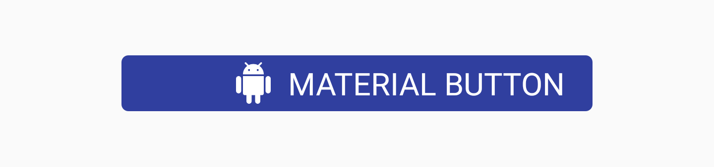 Material Button with app:additionalPaddingLeftForIcon attribute