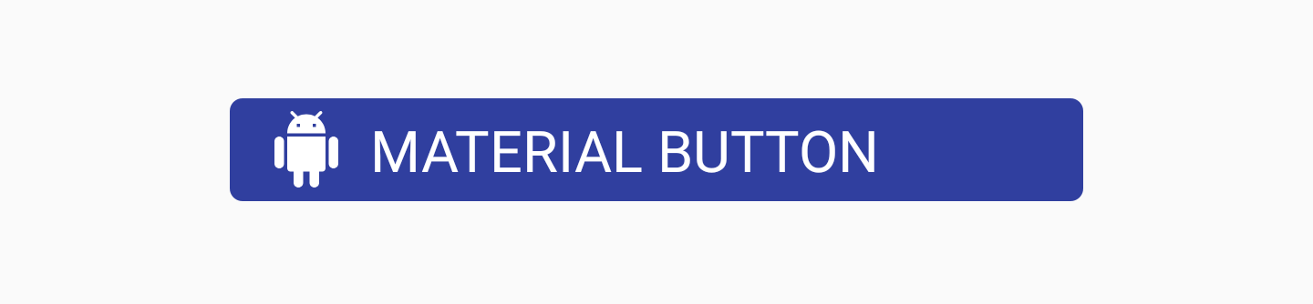 Material Button with app:additionalPaddingRightForIcon attribute