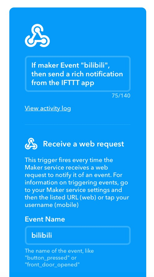 Use IFTTT's Webhook to Implement Message Reminders | 西门橙