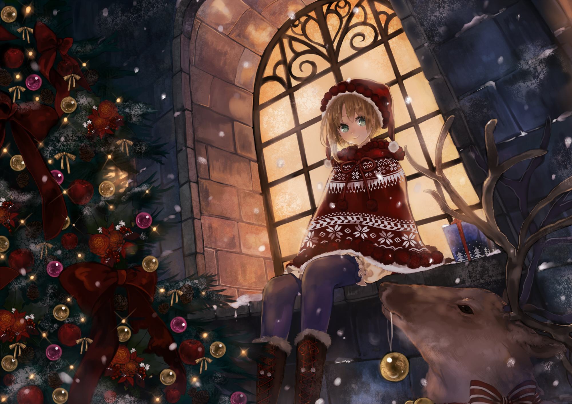 Merry X'mas (Pixiv ID: 15447116)