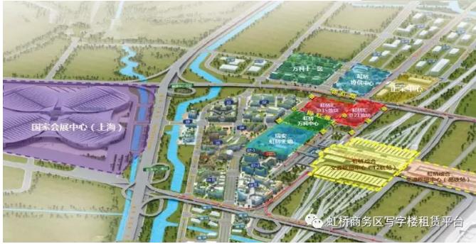 上海虹桥商务区写字楼选址10大攻略