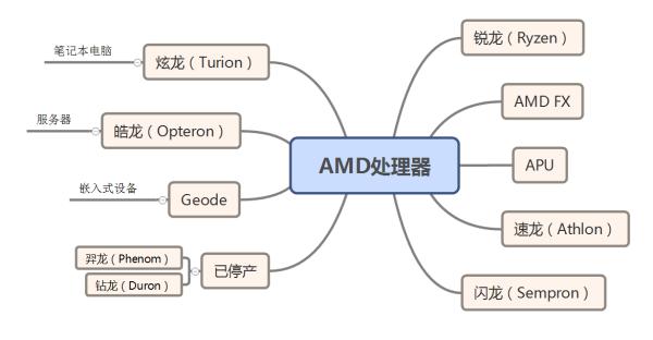 AMD 处理器