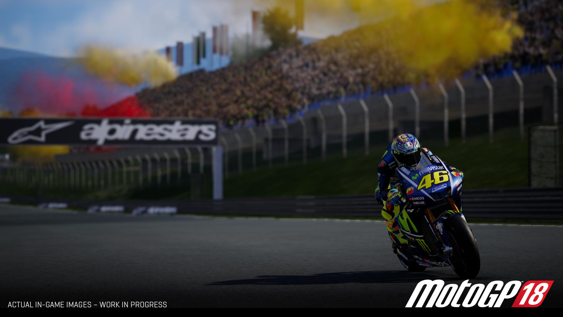 《世界摩托大奖赛18》洋文版