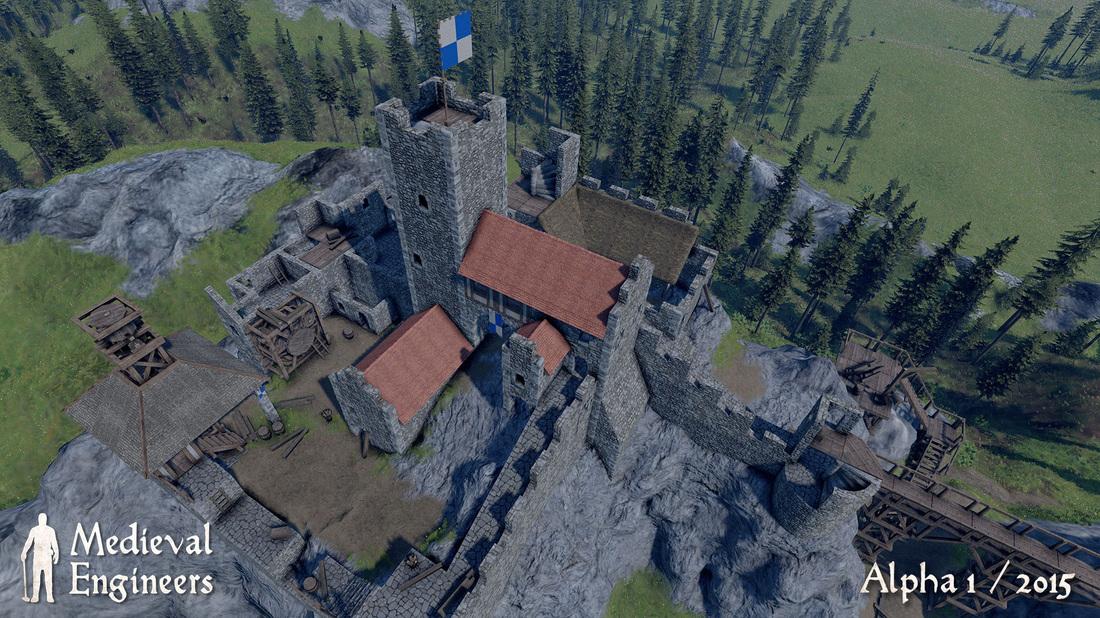 《中世纪工程师》Keen Software House 洋文版