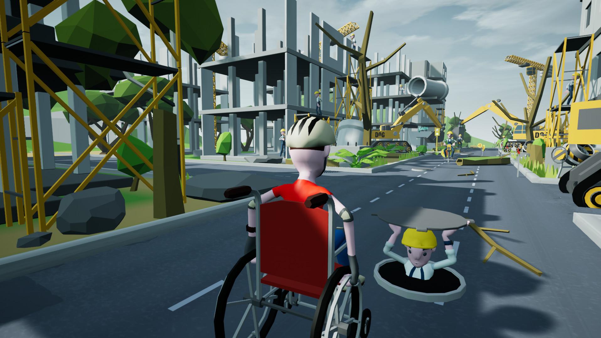 《轮椅模拟器》Wheelchair Simulator洋文版