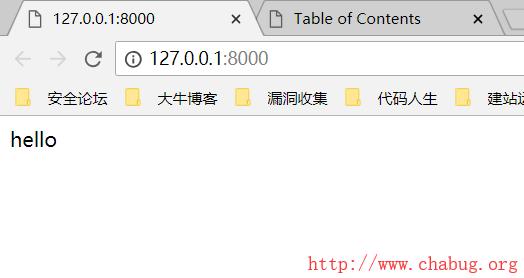 [Y4er]6月份作业之Django开发个人博客-ChaBug安全