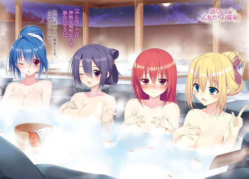 6月26日日本露天浴场日!20张相关主题动漫图- ACG17.COM