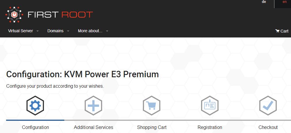 羊毛党之家 First Root:€13/月/8GB内存/300GB SSD空间/5TB流量/KVM/德国 https://yangmaodang.org