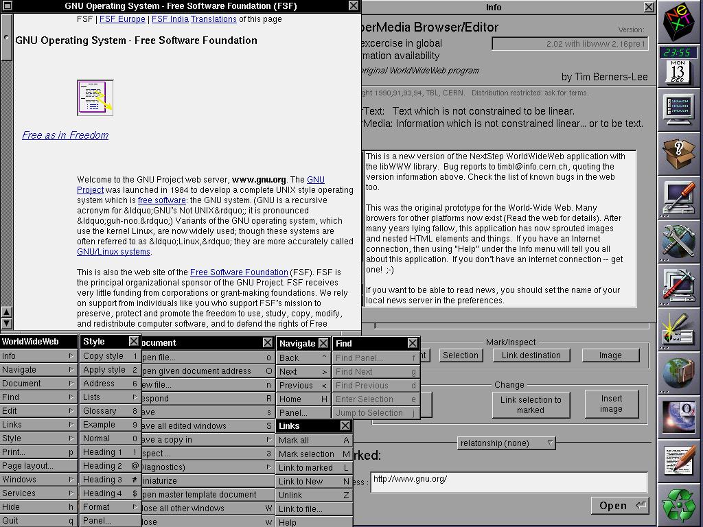 第一个浏览器
