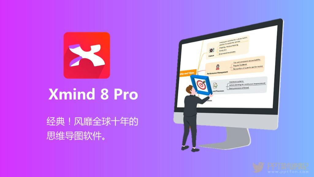 XMind 8 Pro 3.7.7最新安装版绿色版/激活补丁免费下载
