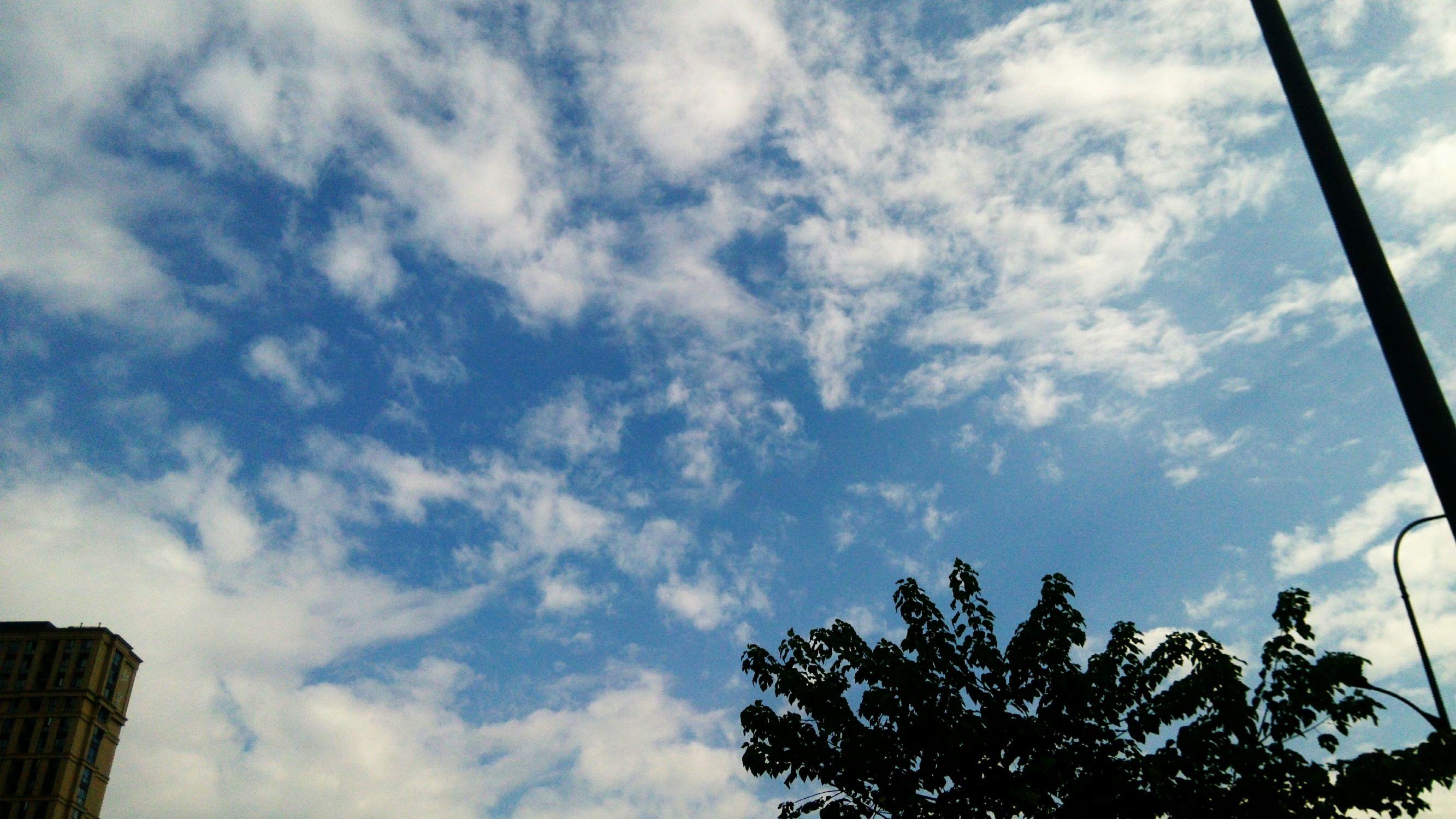 杭州的天空