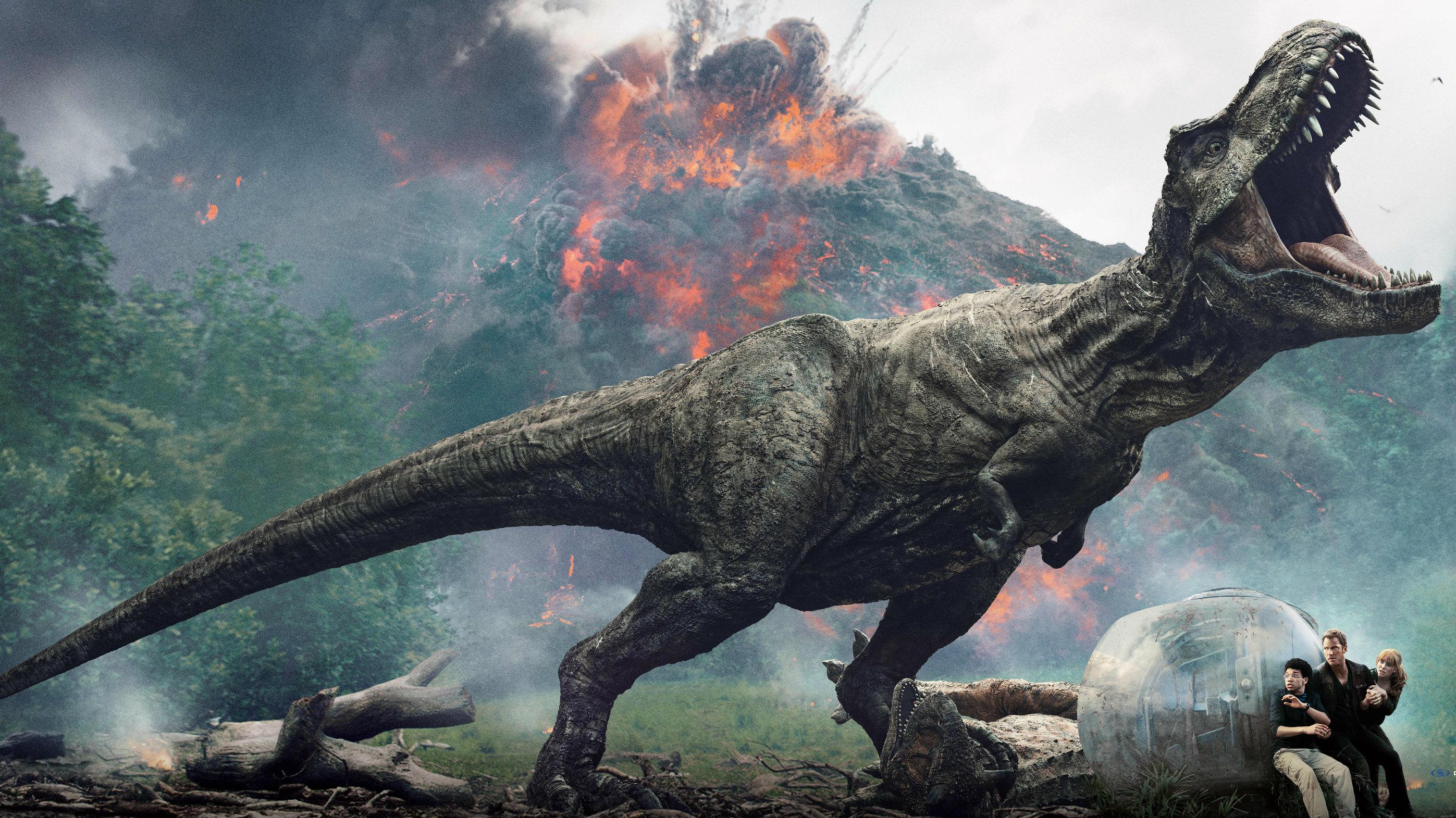 说好的建国后不许成精,但是侏罗纪世界2里的恐龙都成精啦!