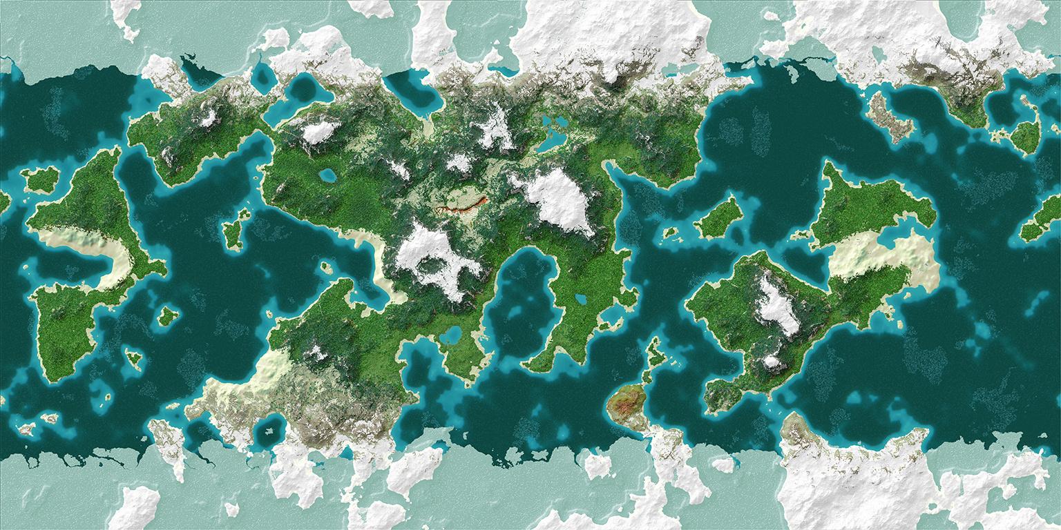 [ Innova Creation ] Peony Planet Minecraft Map