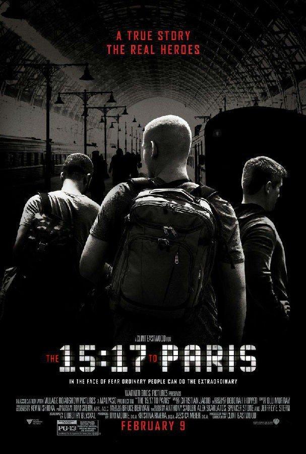 15点17分_启程巴黎_15:17巴黎列车电影迅