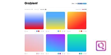 CSS代码渐变颜色生成工具-Grabient