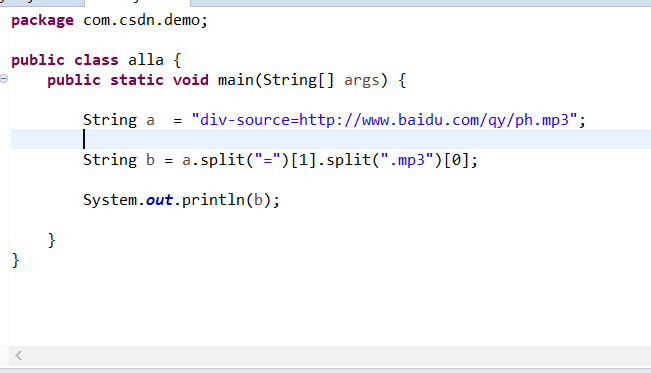 java如何截取字符串中的url地址