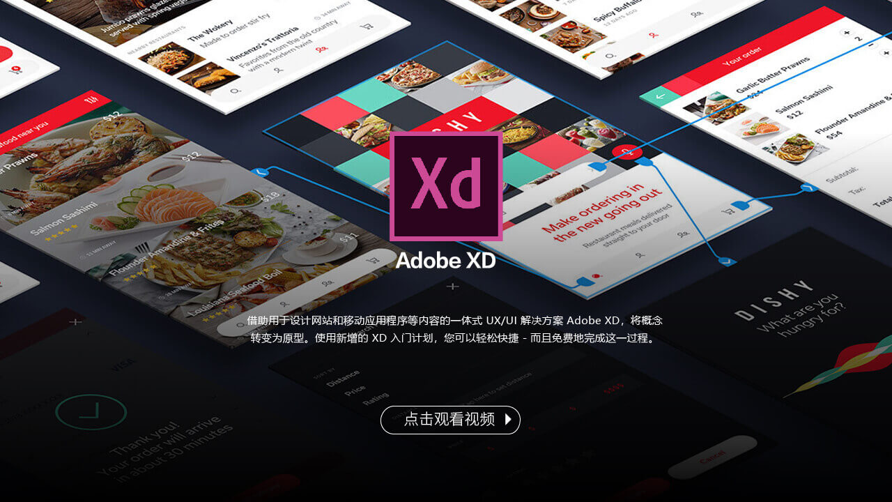 mui软件Adobe XD