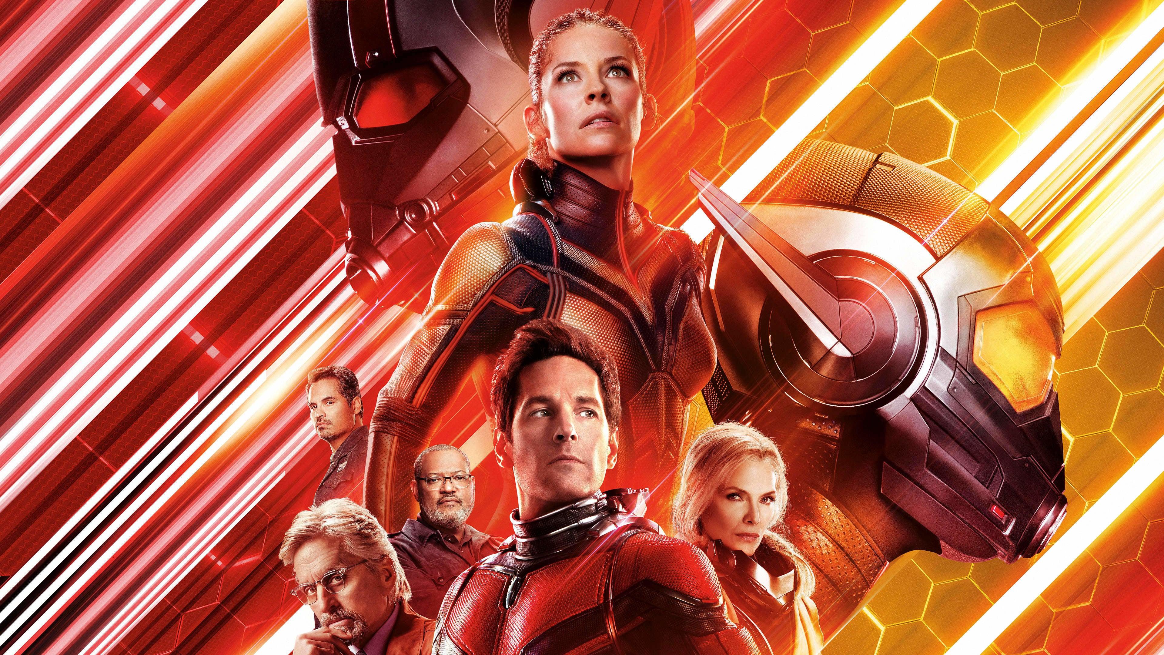 """莫以尺寸论英雄,《蚁人2:黄蜂女现身》带你看超能""""小""""英雄勇闯大世界"""