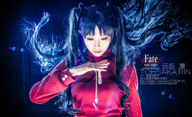 Fate Stay Night Unlimited Blade Works-Saber & Tohsaka Rin by LALA二世_LALAax & 变态狩子