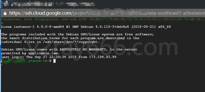 SSH 界面