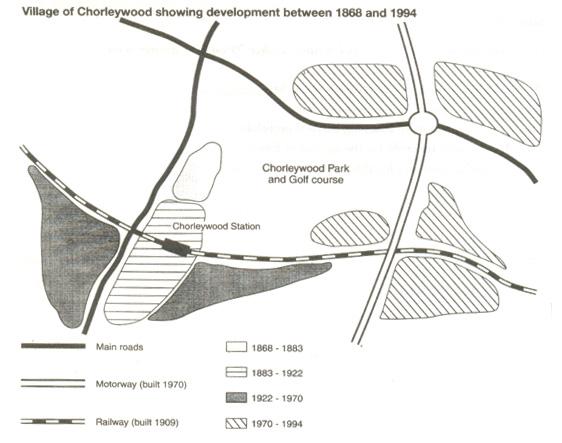 雅思写作小作文范文 雅思写作地图题map 地区变化