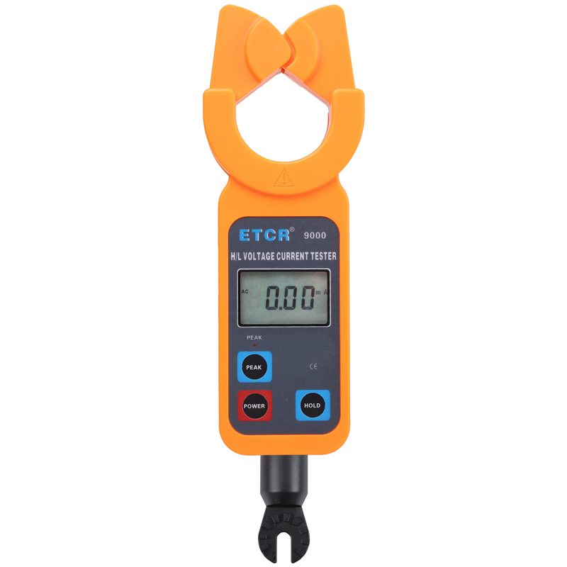 ETCR9000 H/L Voltage Clamp Current Meter