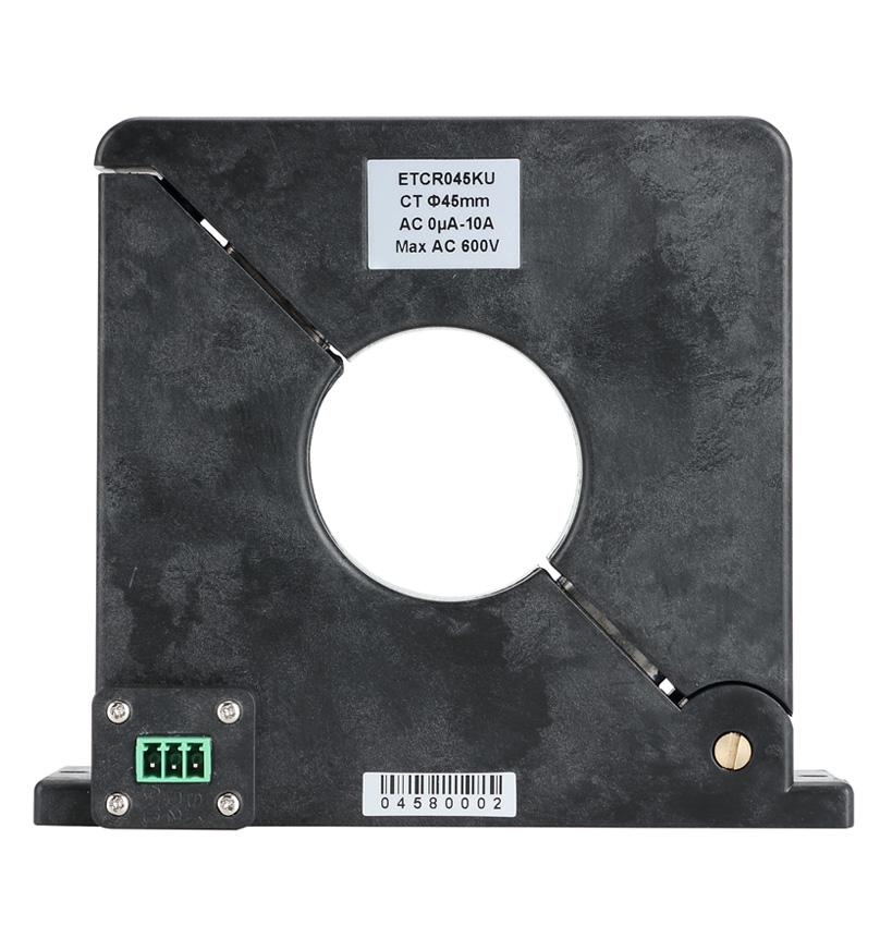 ETCR045KU Microampere Level High-precision Leakage Current Sensor