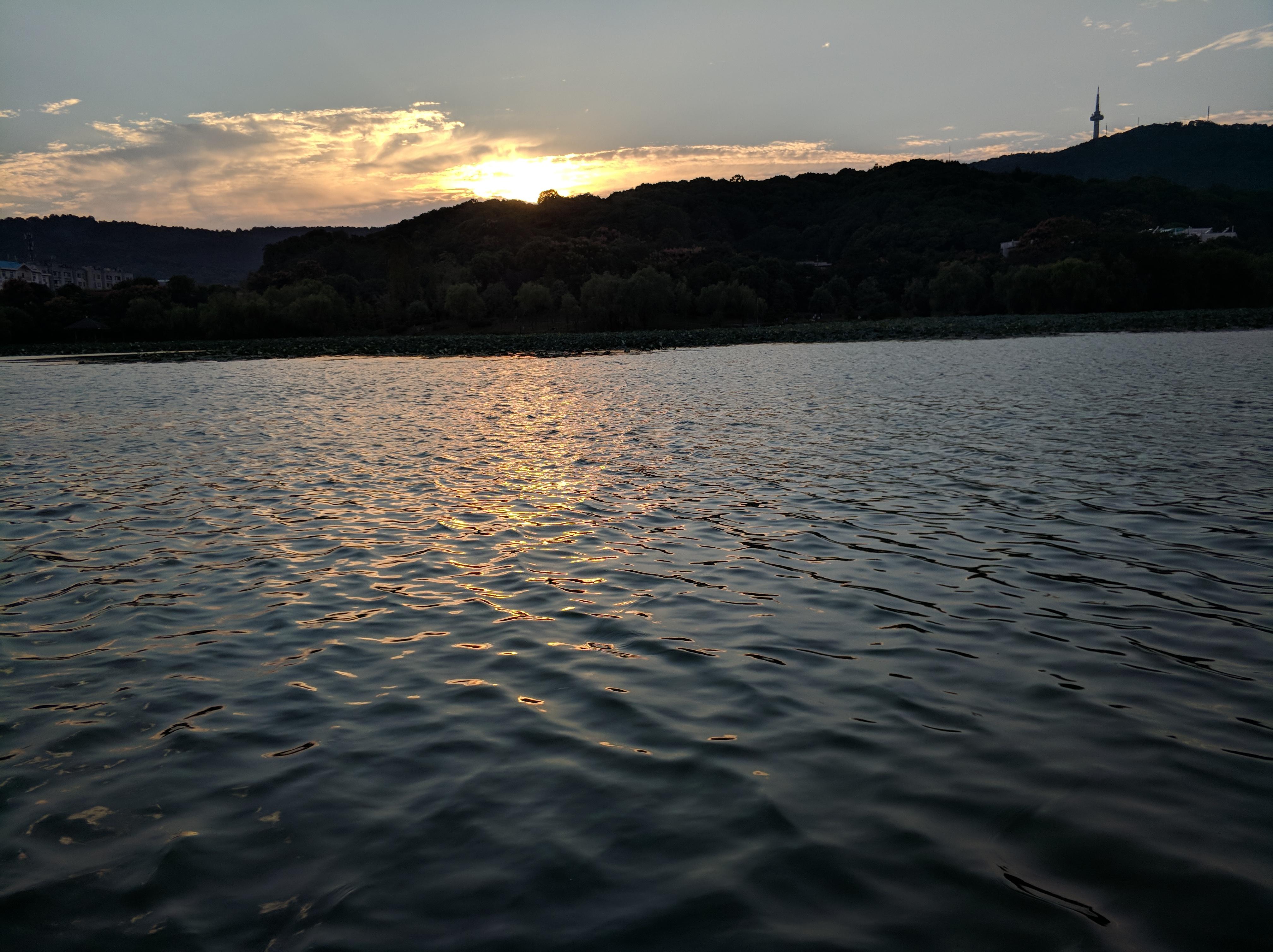 日落·余晖