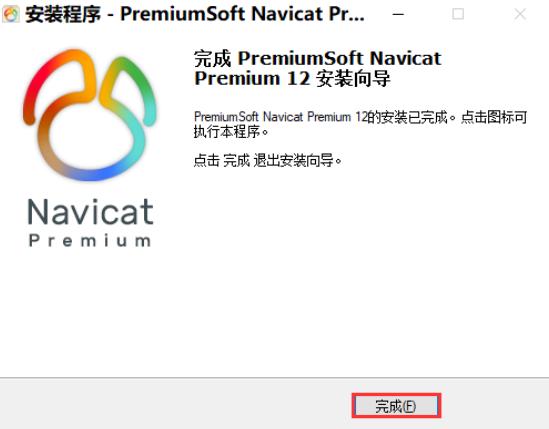 Navicat安装8