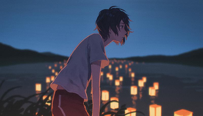 river-lantern