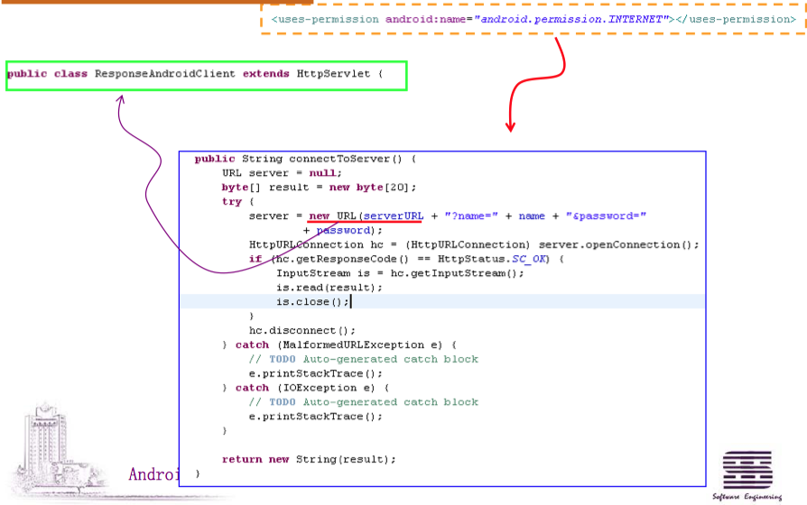 Using HttpURLConnection to access web service